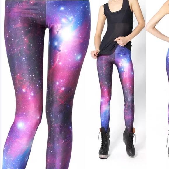 5b2e4096f49cb Pants   Galaxy Yoga Stretch Leggings Tight Fitted   Poshmark